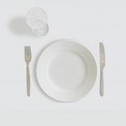 Fasten – gesund Abnehmen ohne Hunger. Foto: lurentvalentinjospi0_pixabay_leerer Teller-938747_1920